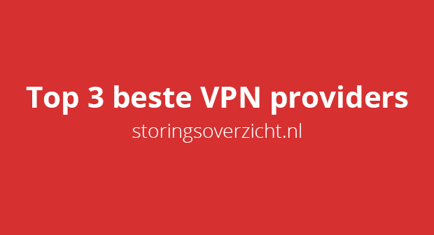 Top 3 beste VPN providers